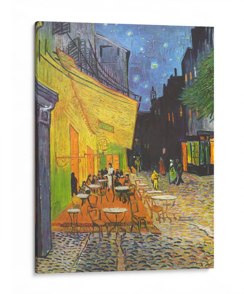 Terraza De Café Por La Noche Vincent Van Gogh