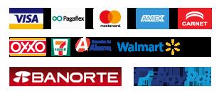Elige entre una extensa variedad de formas de pago