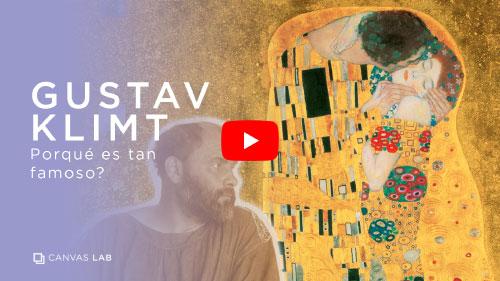 ¿Por qué es famoso Gustav Klimt?