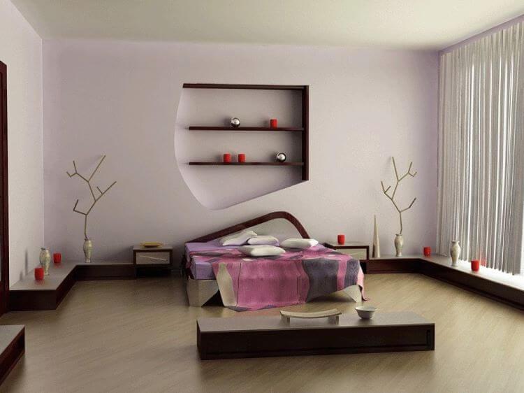 habitacion zen minimal