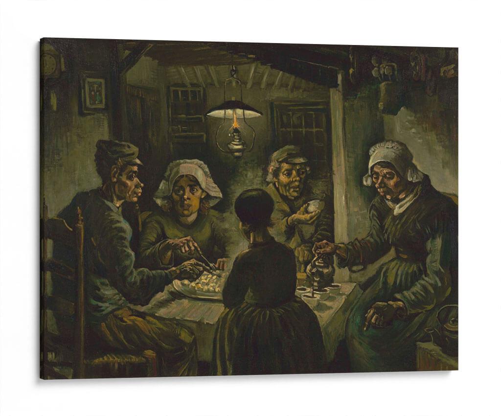 Los comedores de patatas - Vincent Van Gogh - Canvas Lab