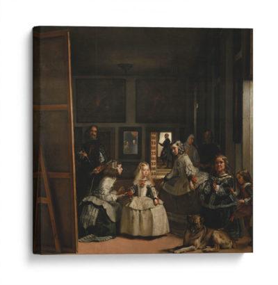 Las-meninas-Diego-Velázquez-Canvas
