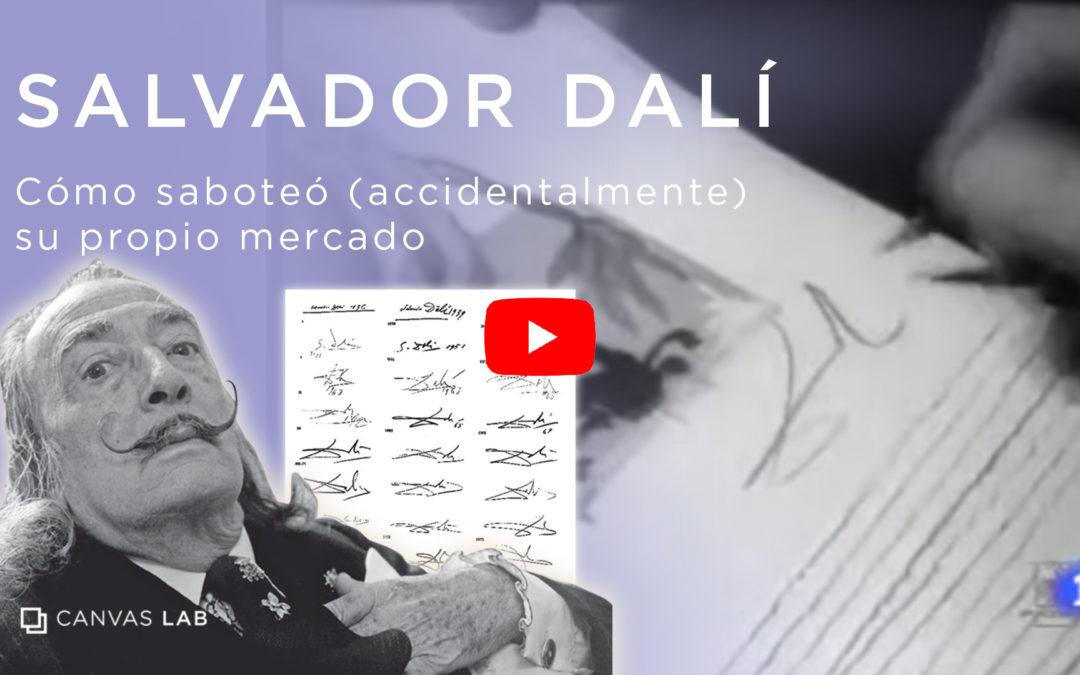 Como Dalí accidentalmente destruyó su propio mercado