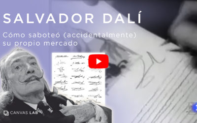 Como Dalí accidentalmente destruyó su propio mercado