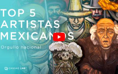 Top 5 Artistas Mexicanos